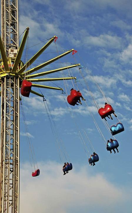 Jetzt geht's rund – nicht ... der Freiburger Frühjahrsmess'.   | Foto: A. Schiffner