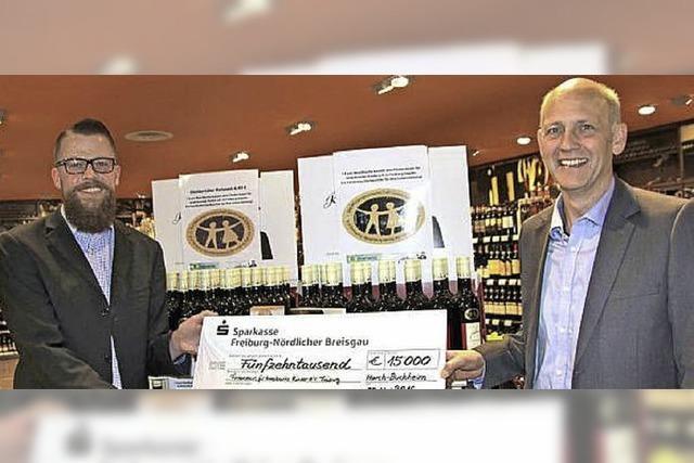 Ein Euro je Flasche Wein