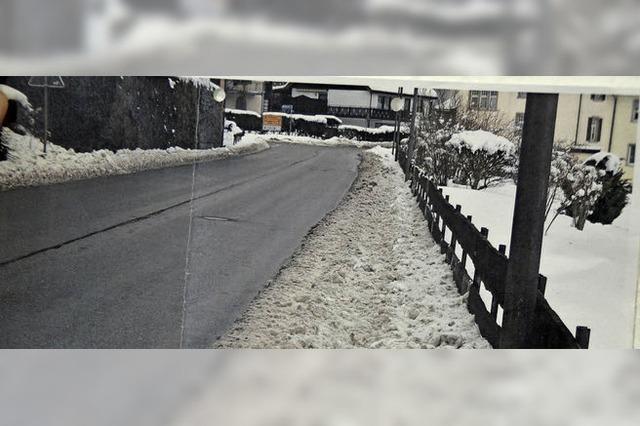 Strafen für Hauseigentümer wegen Schnee von gestern