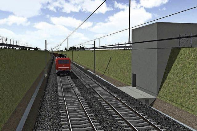 Infoveranstaltung zur Rheintalbahn verläuft harmonisch