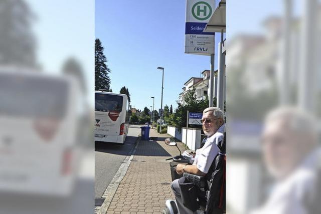 Spontane Busfahrt mit E-Mobil bleibt unmöglich