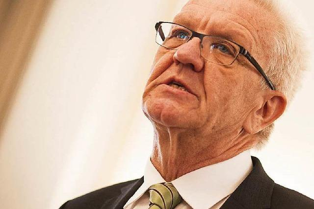 Kretschmann ist Ministerpräsident – Stimmen aus eigenem Lager fehlen