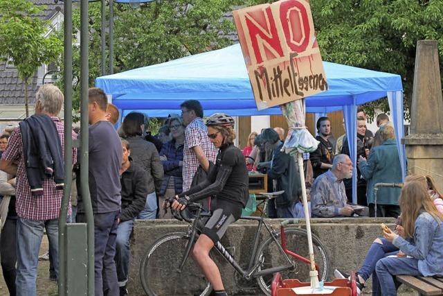 Protest im Eggenertal geht weiter