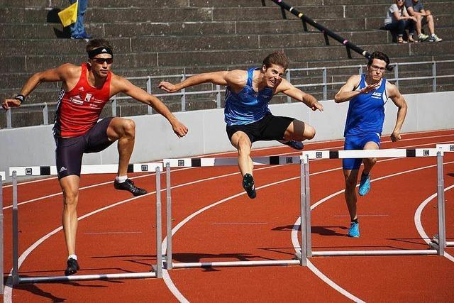 Quentin Seigel mit Vereinsrekord über 200 Meter Hürden