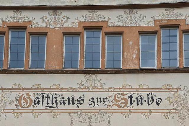 Geldgeber für die Stube in Pfaffenweiler gesucht