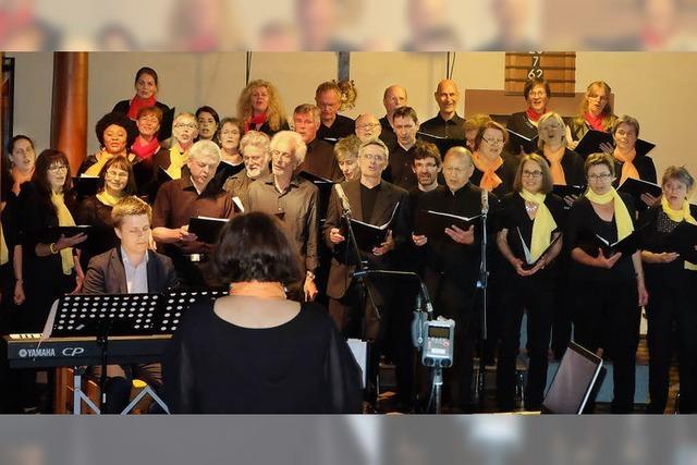 Der Rejoice Chor begeistert