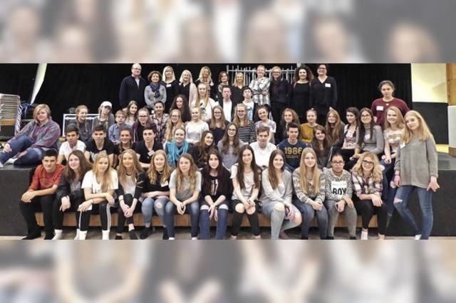 Internationales Schülertreffen