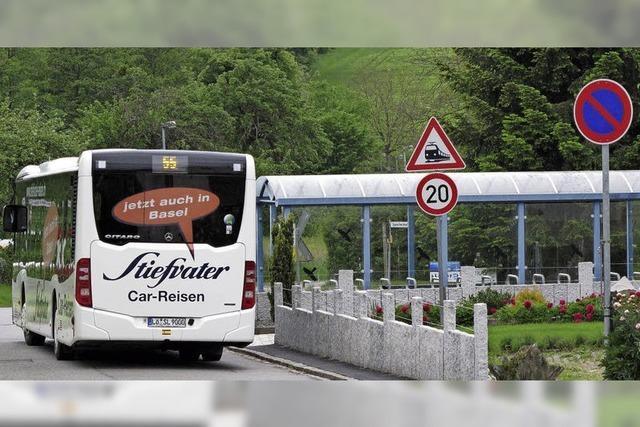 Direkter Bus nach Lörrach