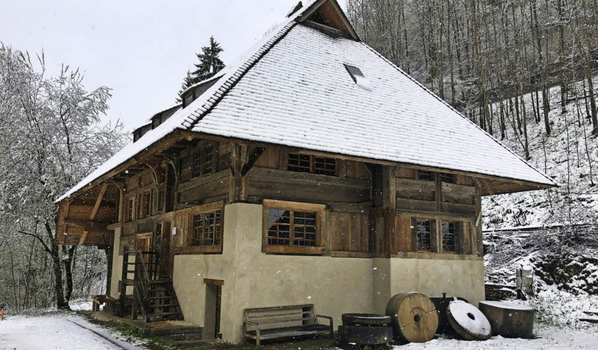 Die neue Mühle am Heimatpfad wirs am Pfingstmontag eingeweiht.   | Foto: Privat