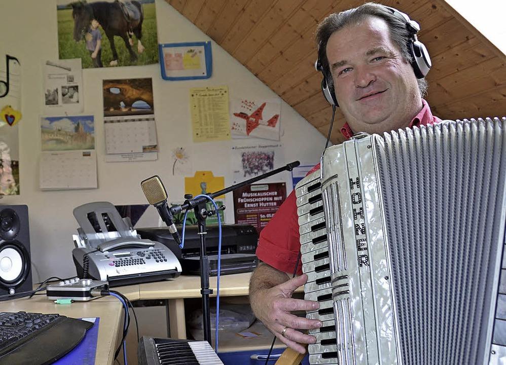 Komponist Gottfried Hummel aus Göschwe...vanten Persönlichkeit erklärt worden.   | Foto: Martin Wunderle