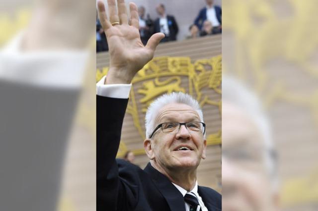 Kretschmann wiedergewählt