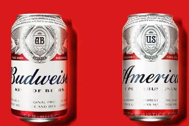 Budweiser-Bier heißt