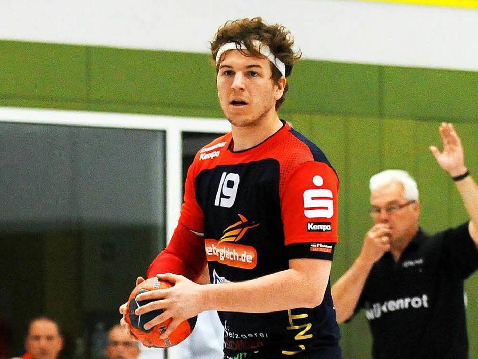 Christoph Baumann hat  mit dem HTV Mei...im das erste Relegationspiel gewonnen.  | Foto: Wolfgang Künstle