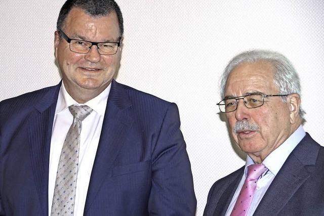 Guderjan für dritte Amtszeit verpflichtet