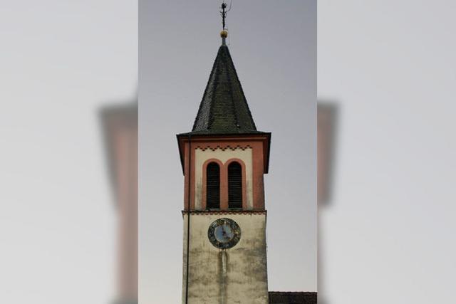 Turm wird saniert