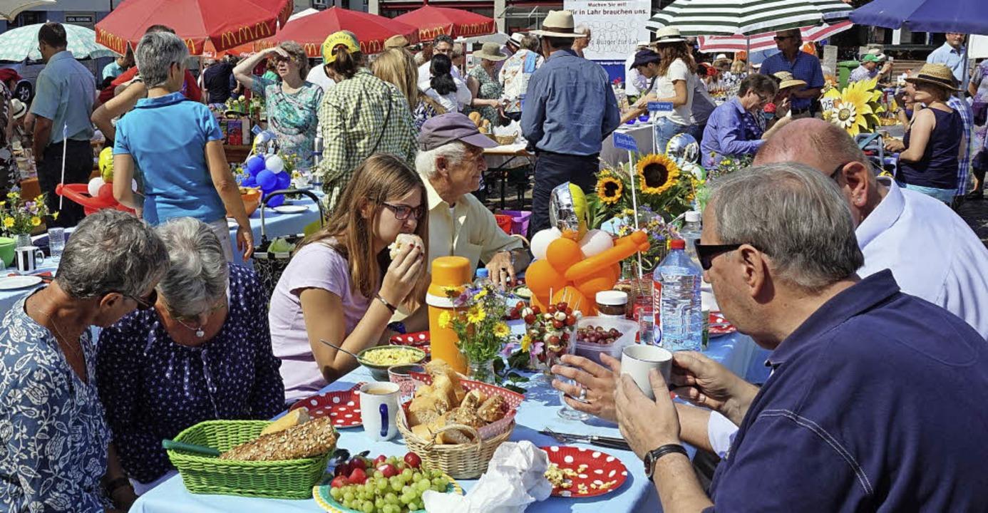 Großen Zuspruch fand der Bürgerbrunch ...ei Jahren: Alle Tische waren besetzt.   | Foto: ARCHIV: KLAUS SCHWEIZER
