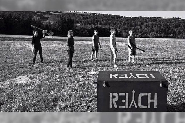 Mit der Band Reach in Bonndorf