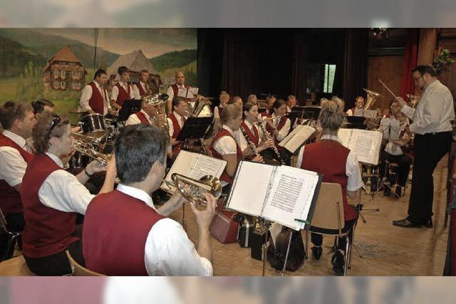Mit dem Musikverein Menzenschwand in St. Blasien