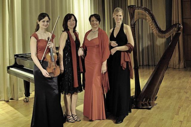Das Quartett Ladies-Classic-Night gastiert in Badenweiler