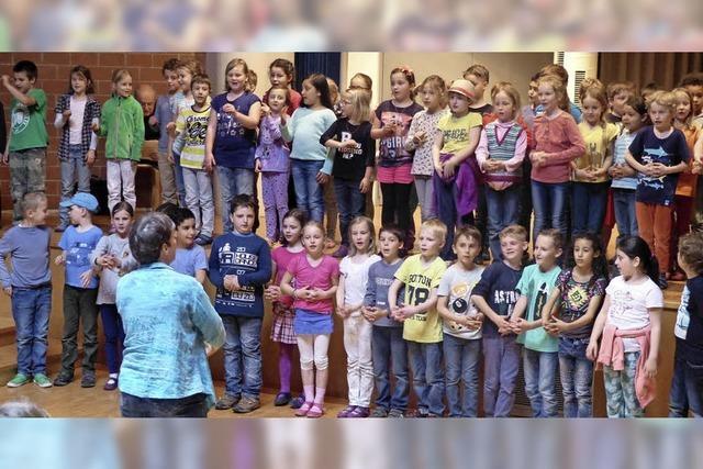 Hebeltag an der Wild-Grundschule