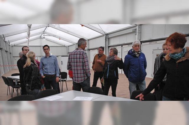 Großes Interesse am Flüchtlingsheim