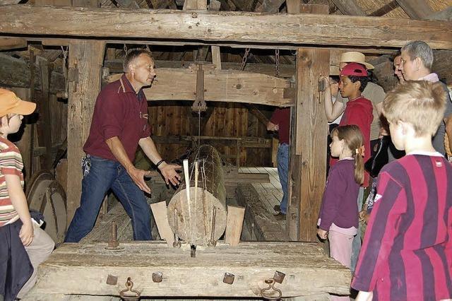 Einblicke in Ortenauer Mühlen