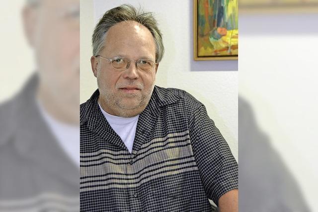 Diakon Peter Hepp leistet Seelsorge für Behinderte: Stille, Dunkelheit und Wärme