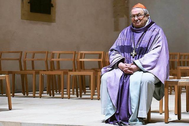 Kardinal Karl Lehmann, der in Freiburg lehrte, wird 80