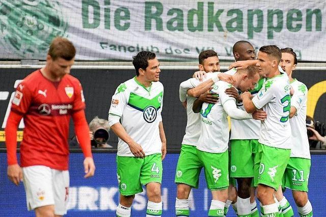 Abstieg: Der VfB Stuttgart muss in die zweite Liga – Frankfurt in die Relegation