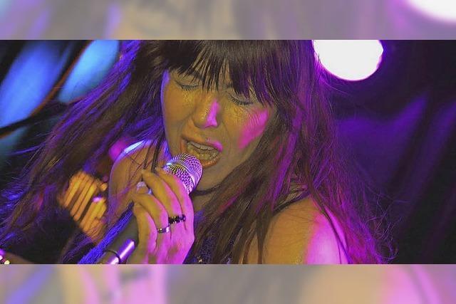 Mariella Tirotte und The Blues Federation in Emmendingen