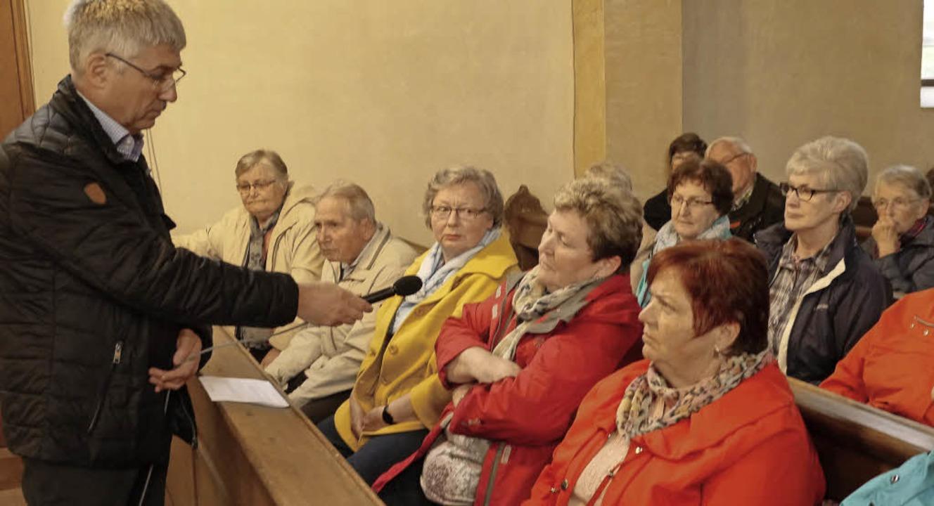 Kontrovers diskutiert wurde bei der Ge...eplante Toiletteneinbau im Gotteshaus.    Foto: Christel Hülter-Hassler