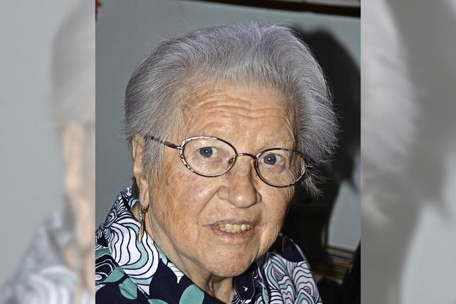 Elisabeth Sawcyn 80 Jahre alt