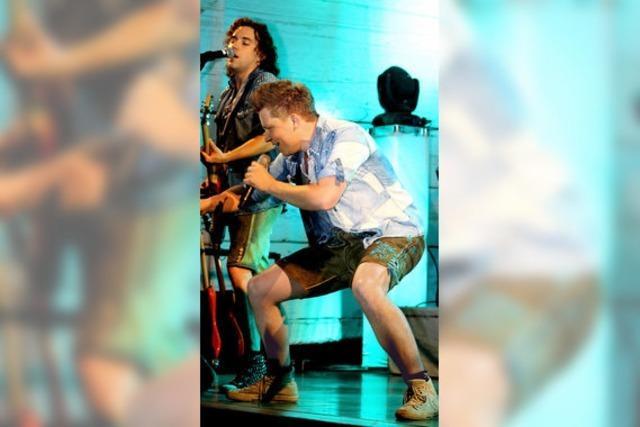 Franken-Trio rockt das Dorf