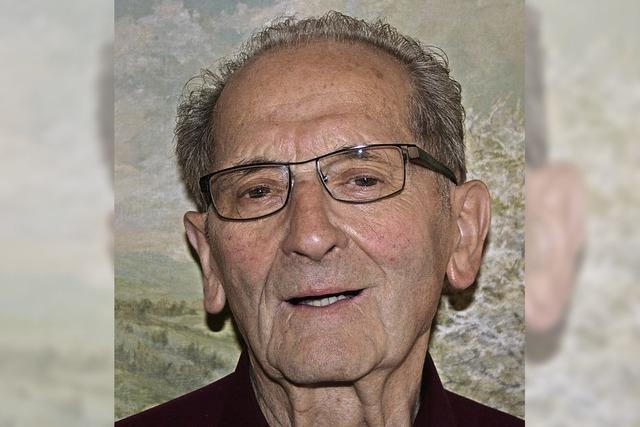 Heinz Kiesel feierte den 80. Geburtstag
