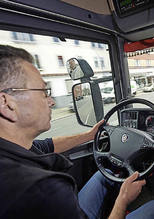 Berufskraftfahrer  | Foto: Bernd Thissen