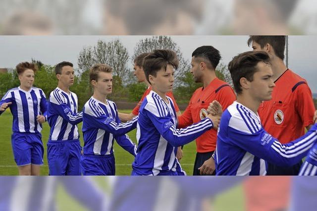 Neustädter B-Junioren verlieren Endspiel