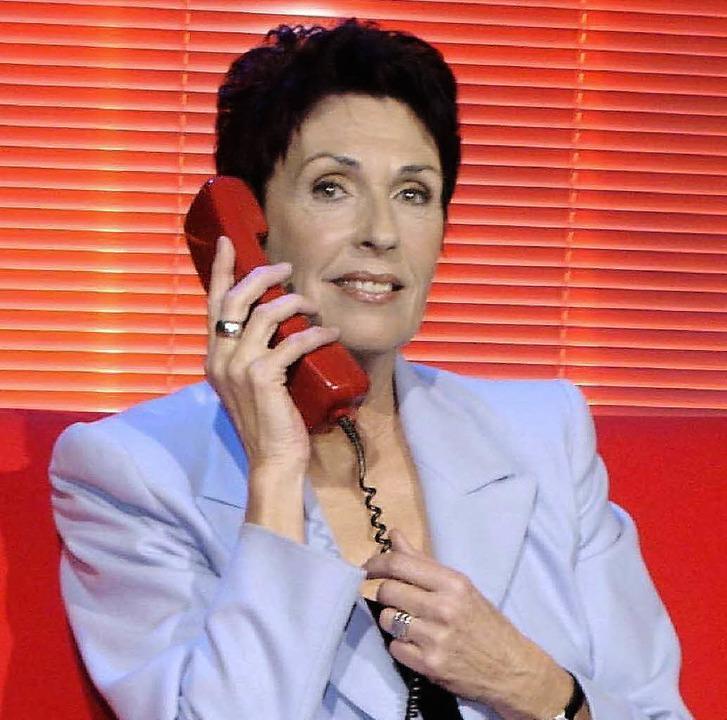 Erika Berger im Jahr 2003   | Foto: dpa