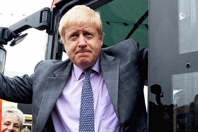 Brexit-Debatte: Boris Johnson sorgt für neuen Wirbel