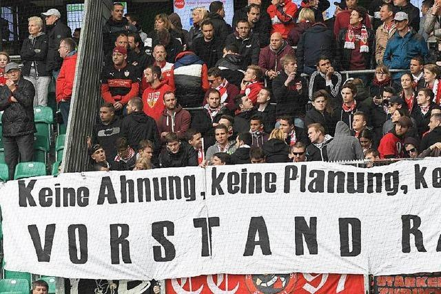 Verbitterung unter den VfB-Stuttgart-Fans ist groß