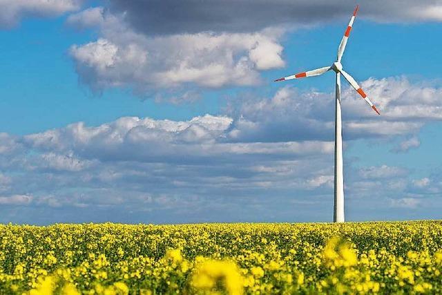 Grün-Schwarz im Land will die Windenergie ausbauen