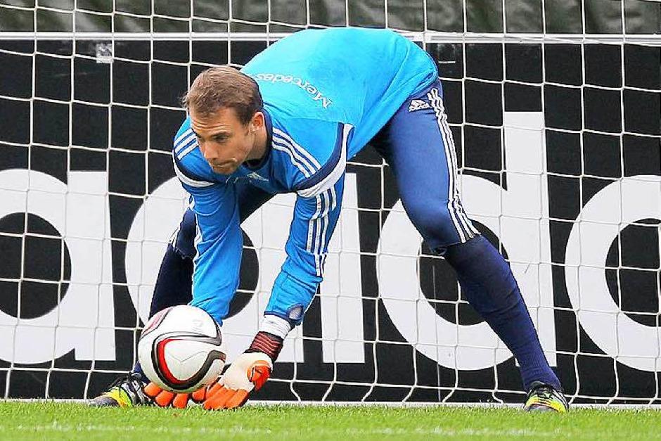 Keine Überraschung gibt es im Tor: Manuel Neuer (Bayern München) ist gesetzt. (Foto: Fredrik von Erichsen)