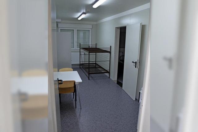 Landratsamt stellt neue Flüchtlingsunterkunft in Malterdingen vor