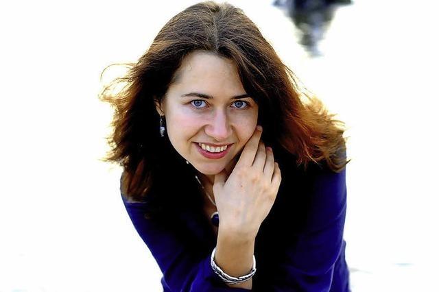 Anna Zassimova in Laufen