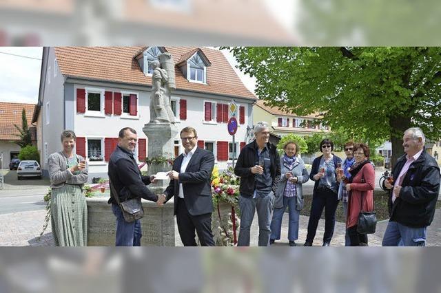 Verein sponsert drei Projekte in Buggingen
