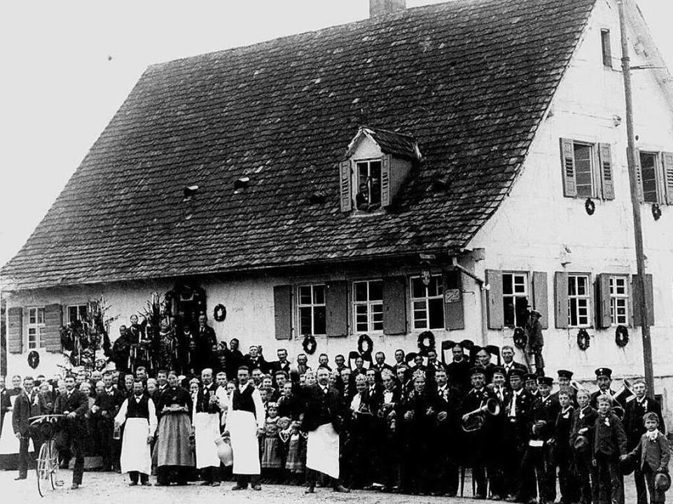 Ortshistoriker Dieter Ohmberger vermut...chsen in Denzlingen   vorbeigerast ist  | Foto: Privat
