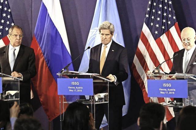Kaum Fortschritte bei Syrien-Gesprächen