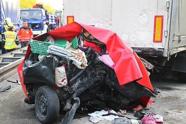 Horror-Unfall – vier Tote aus Baden-Württemberg