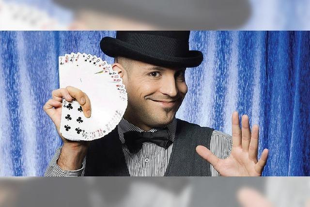 Zauberer Daniel Bornhäußer kommt nach Südbaden