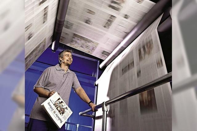 BZ-ERLEBNIS: Im Druckzentrum und BZ-Museum