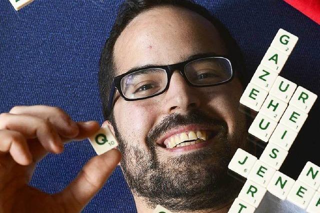 Ein Freiburger mit Scrabble-Leidenschaft